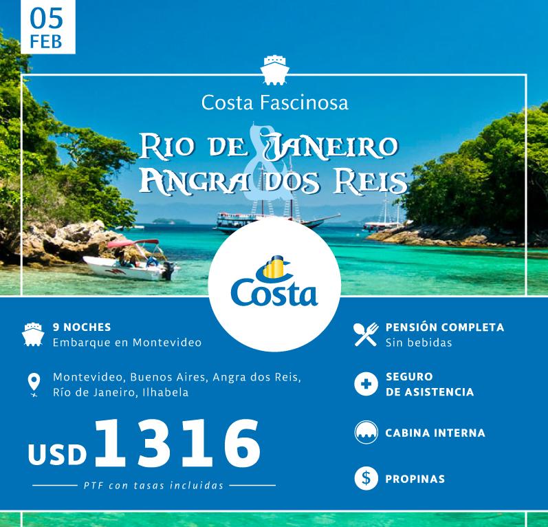 RIO DE JANEIRO Y ANGRA DOS REIS